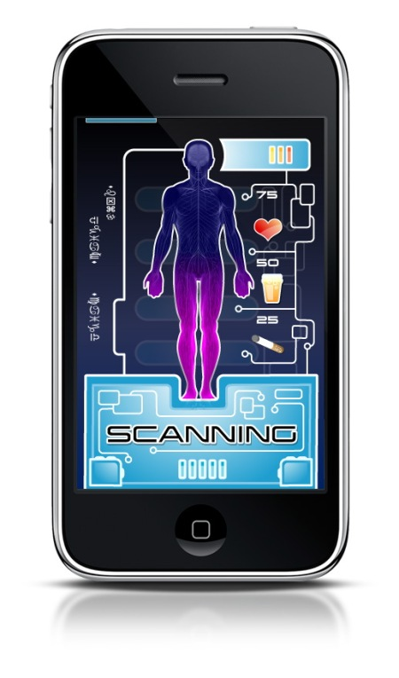 BioScanner - scan your friends and control the result